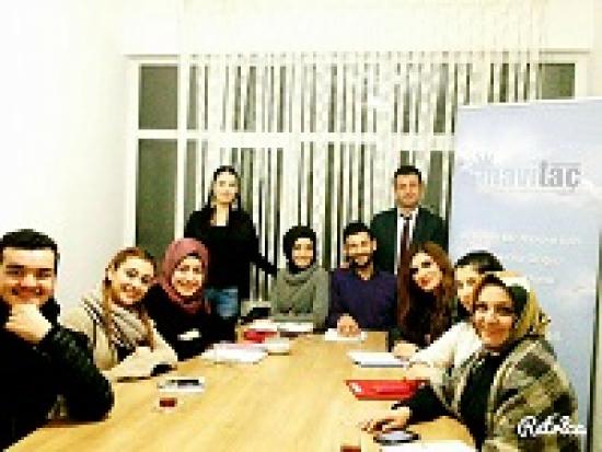 Kurucumuz Cesur CEYLAN Nişantaşı Üniversitesi Sosyal Hizmet Öğrencileri ile Buluştu