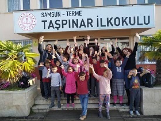 Samsun Terme Taşpınar Köyü İlkokulu