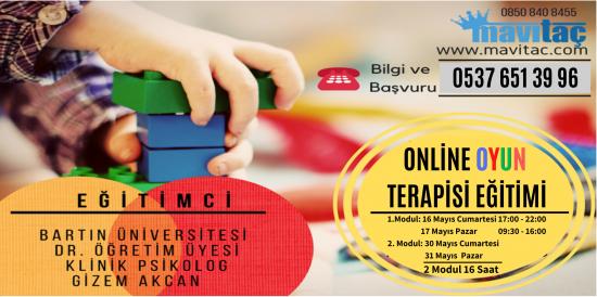 Online Oyun Terapisi Eğitimi