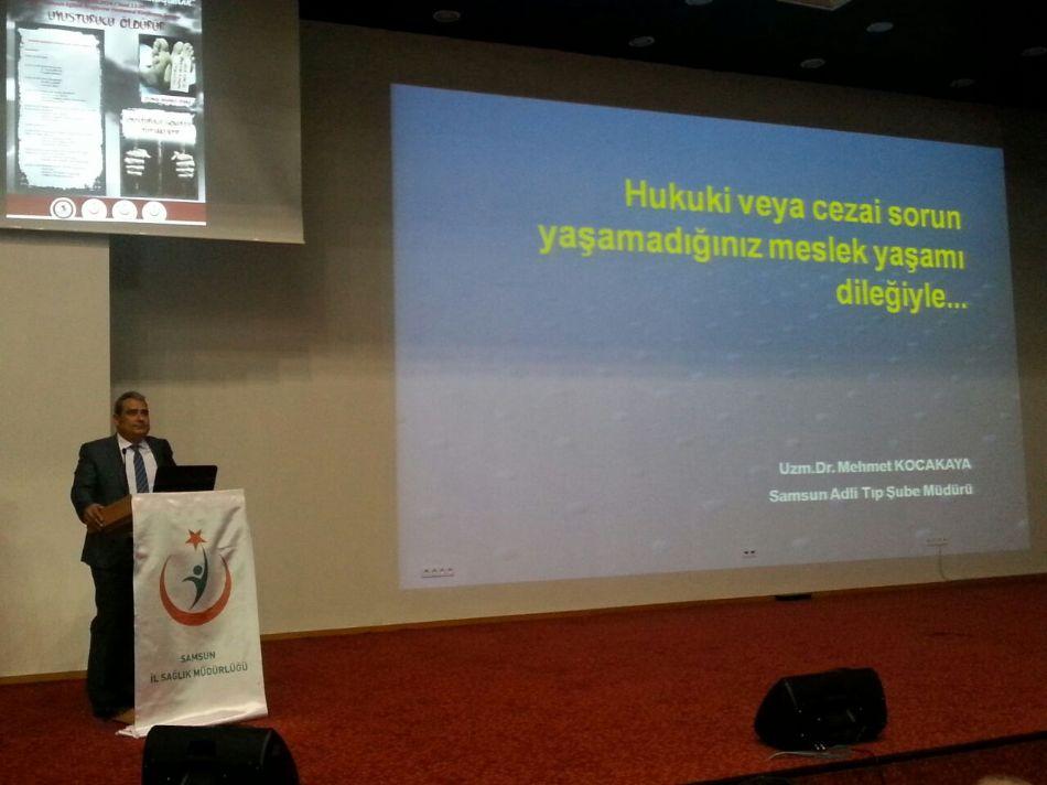 Dr. Mehmet KOCAKAYA Madde Bağımlılığı Sunumu Yaptı